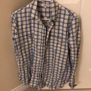 madewell flannel with tags